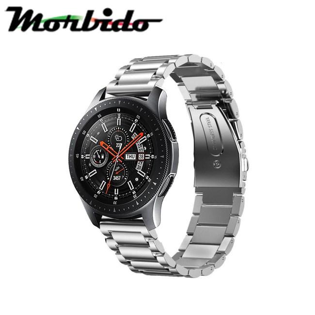 Samsung Galaxy Watch 42/46mm三珠不鏽鋼錶帶