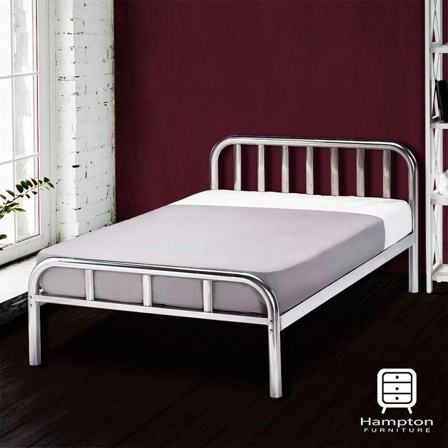 【Hampton 漢汀堡】布德5尺雙人鐵床架