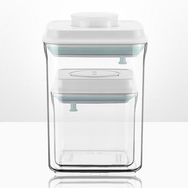 ANKOU LIFE保鮮盒(2件組1500+500ml)附贈勺子+掛具