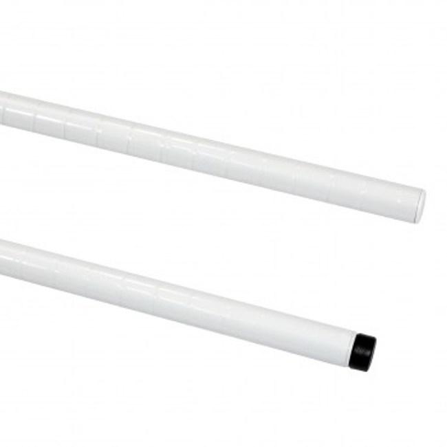 PRO特選烤漆鐵管 160公分(白)