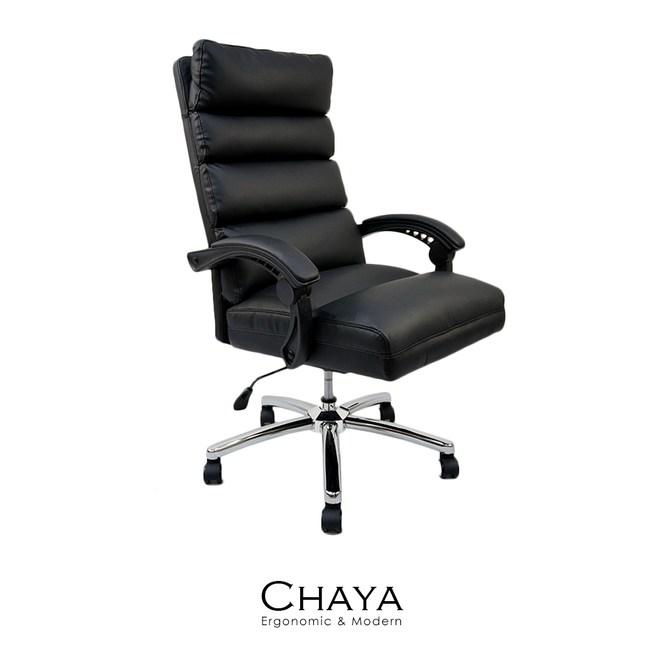 【obis】Giselle高彈力皮質電腦椅