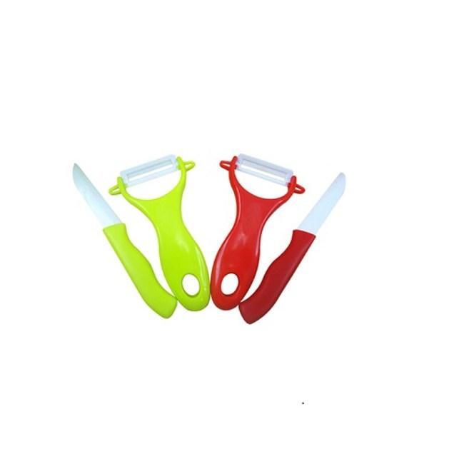 【PUSH!廚房用品】氧化鋯陶瓷刀陶瓷水果刀(綠色一入)D06-2