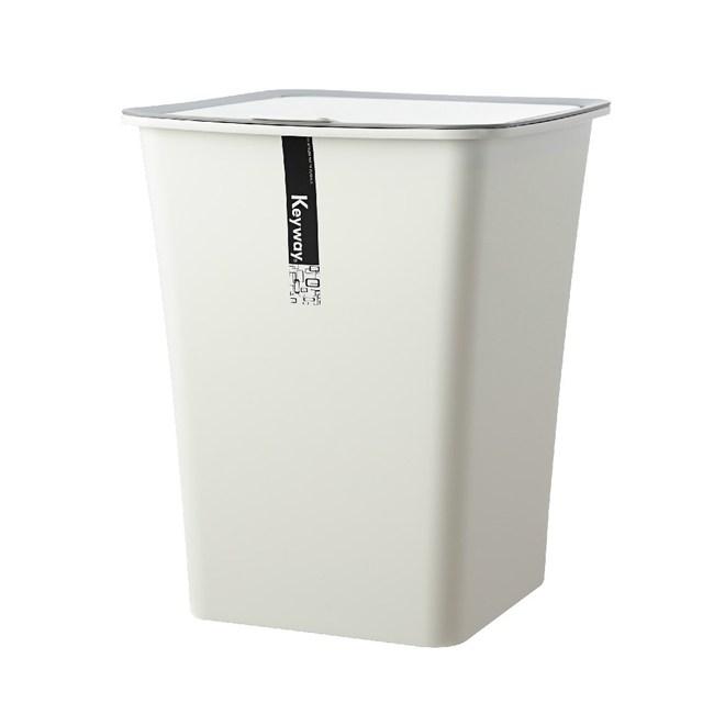 KEYWAY 吉納掀蓋垃圾桶 (大) 11L C-5301 24.8x24.3x31cm