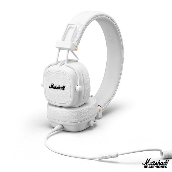 英國Marshall Major III 耳罩式耳機~奶油白奶油白