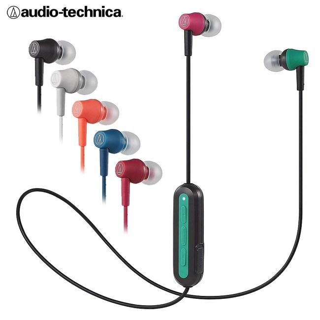 鐵三角 ATH-CK150BT 藍牙無線耳機麥克風組 7HR續航力粉色
