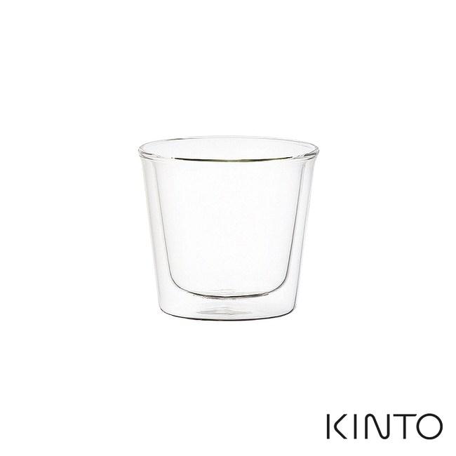 日本KINTO 雙層玻璃杯250ml