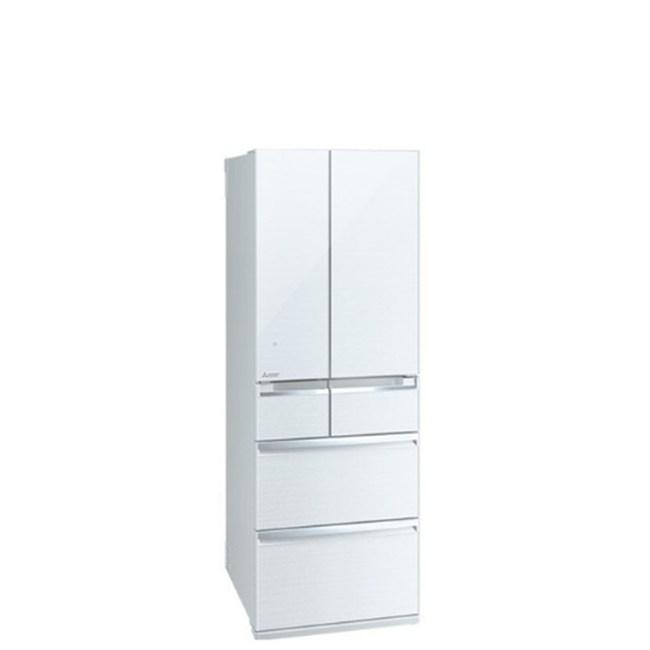 三菱6門605公升冰箱水晶白MR-WX61C-W-C
