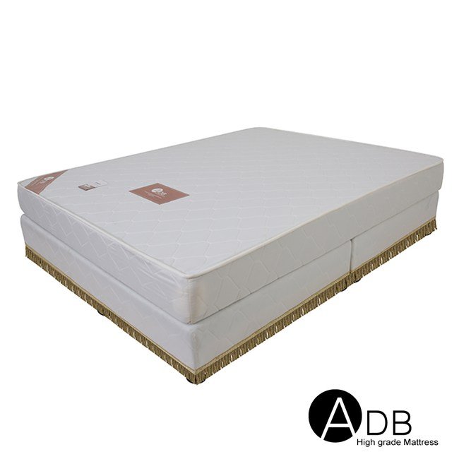 【ADB】桃樂絲舒眠QQ彈簧床墊/雙人5尺