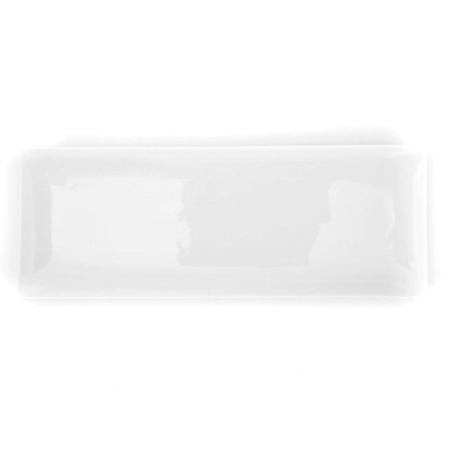 HOLA 雅堤長型平盤 30cm 可適用烤箱/微波爐/洗碗機