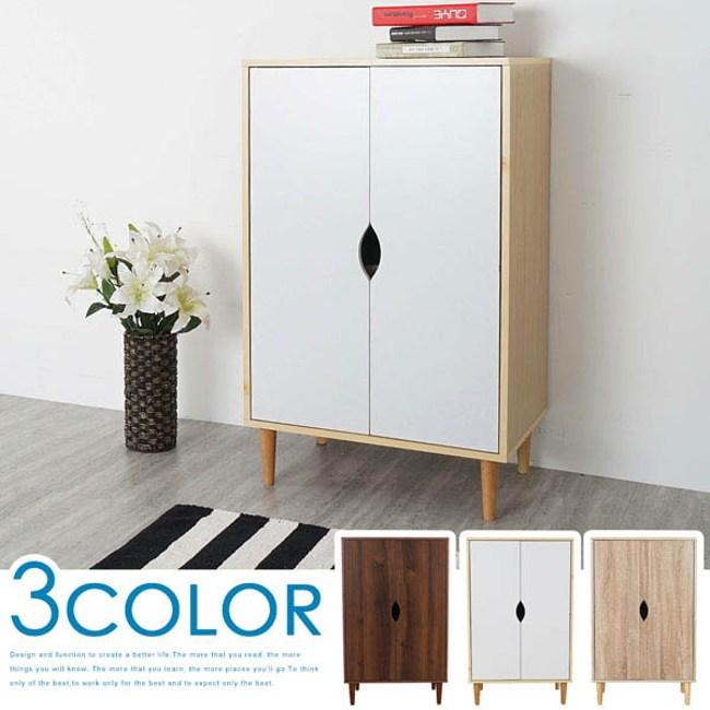 Homelike 卡雅鞋櫃(三色可選)楓木白色