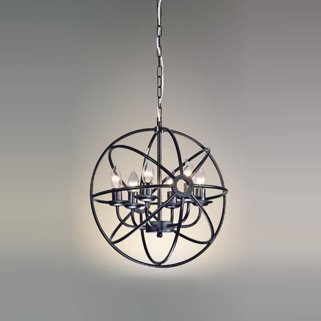 【大巨光】工業風吊燈_中(LW-09-3712)