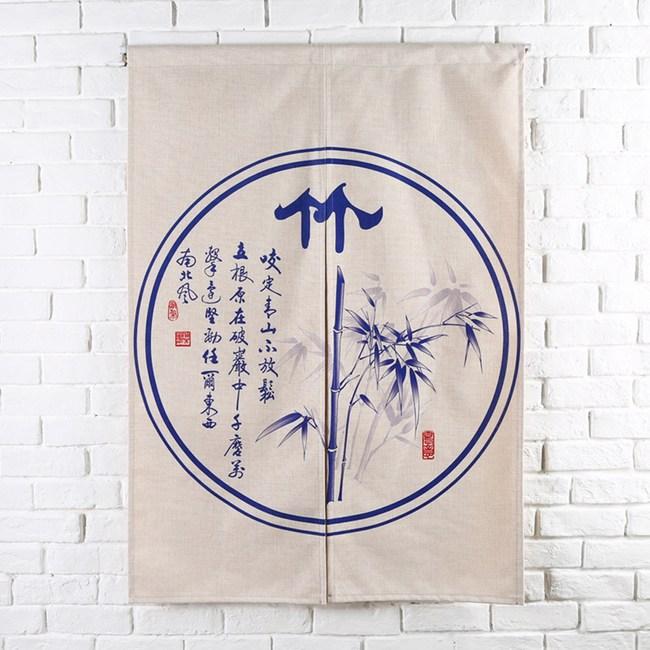 HONEY COMB 竹 棉麻門簾 風水簾GT-3862