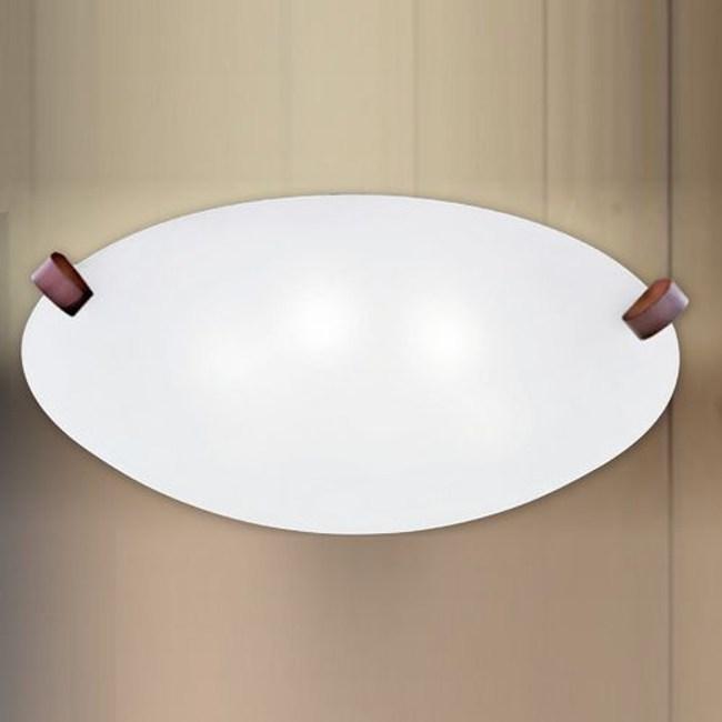 YPHOME 金屬玻璃六燈吸頂燈 S83833H