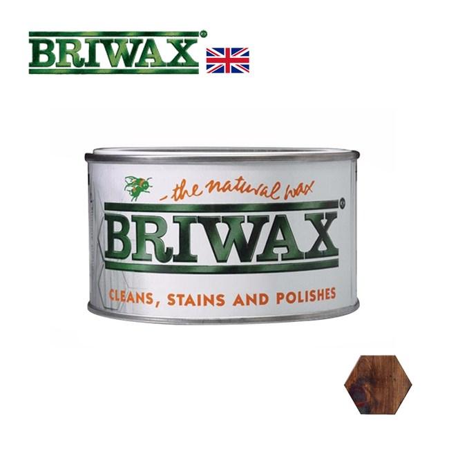 【英國Briwax】拋光上色蠟-核桃木色 370g(上色蠟)