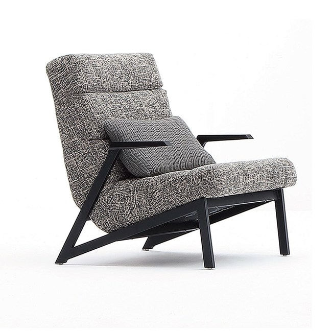 【YFS】歐拉休閒主人椅-66x85x82cm(附小腰枕)