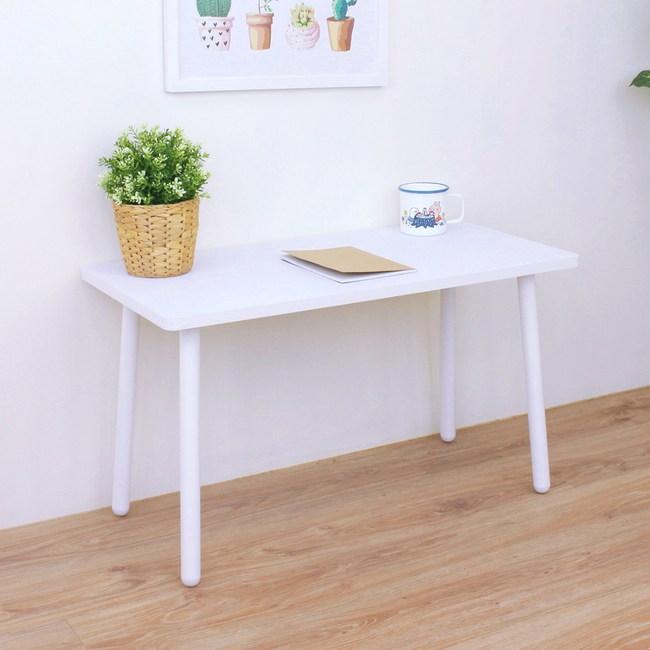 【頂堅】小型和室桌/矮腳桌/餐桌-寬80x深40x高46公分-二色可選素雅白色