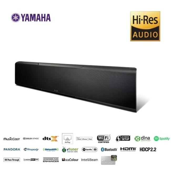 (贈NS-SW050超低音)YAMAHA 7.1.2聲道家庭劇院聲霸 YSP-5600