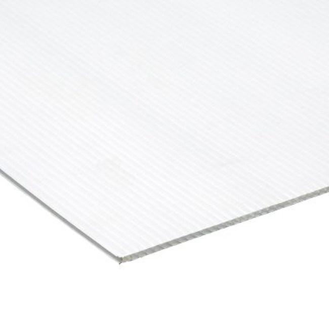 冷氣用4mm瓦楞隔板91x100公分  塑膠材質 防塵防潑水