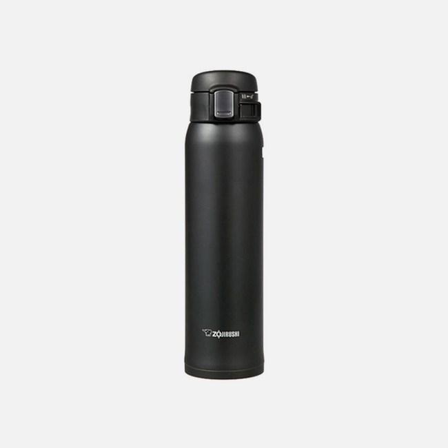 【象印】600ml彈蓋超輕量保溫杯-碳黑色 SM-SC60-HM