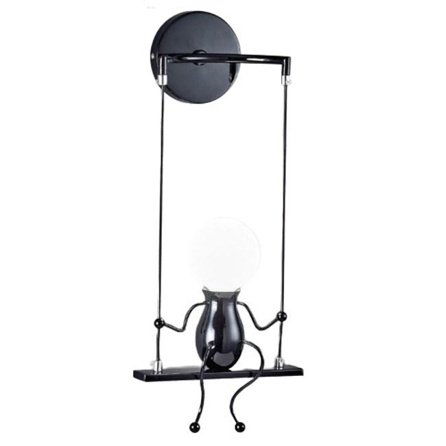 【YPHOME】輕工業盪鞦韆童趣金屬壁燈 PW95021