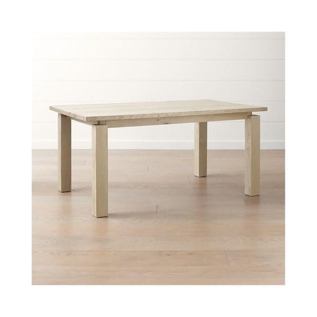 Crate&Barrel Walker 餐桌 165cm 自然色
