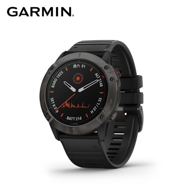 Garmin Fenix 6X Pro Solar(太陽能) 進階複合
