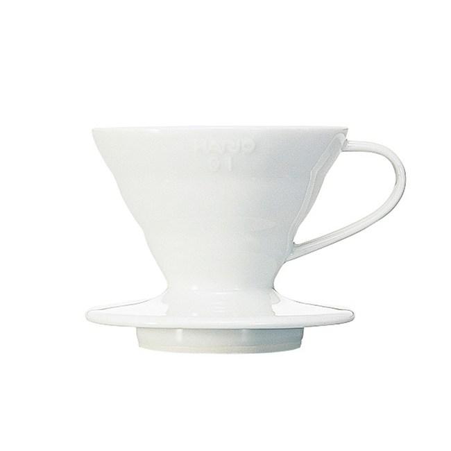 HARIO V60白色01磁石濾杯