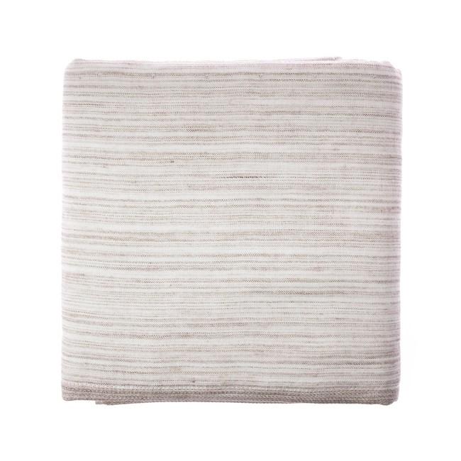 和風竹纖維紗布彩虹浴巾(棕) 70x140cm