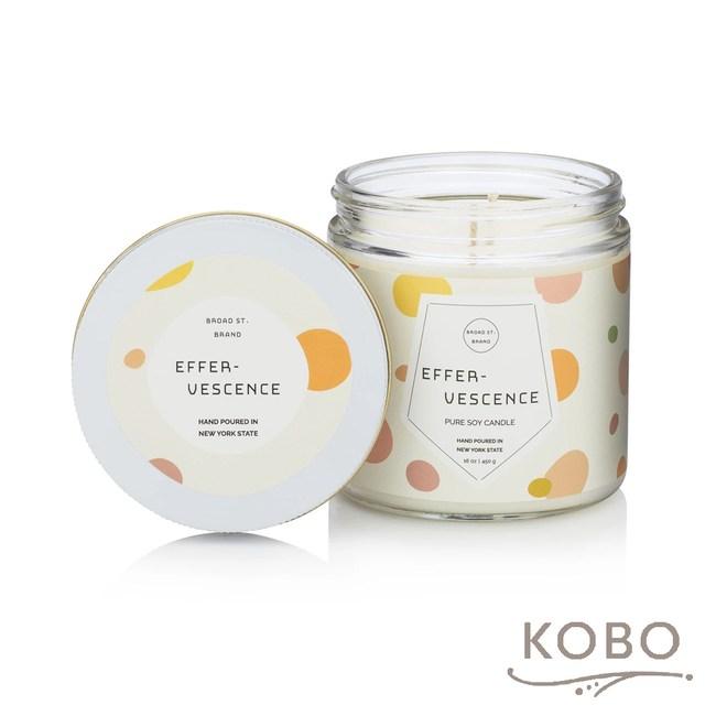【KOBO】美國大豆精油蠟燭-薑芬氣泡-450g/可燃燒65hr