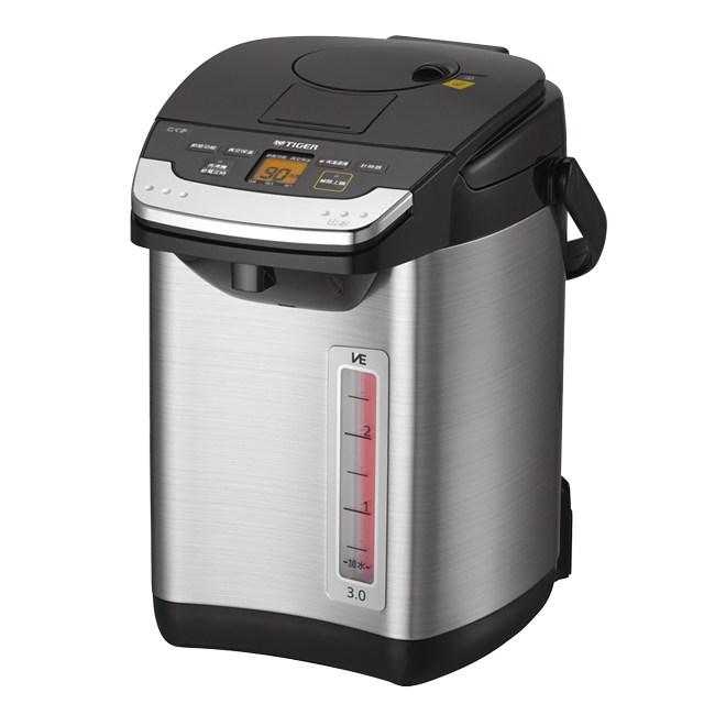 【TIGER虎牌】3.0L無蒸氣VE節能省電真空熱水瓶 PIG-A30R