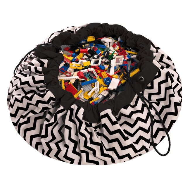 Play & Go玩具整理袋 - 電波黑