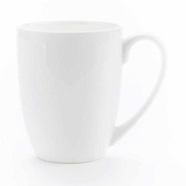 HOLA 緻白骨瓷馬克杯 350ml