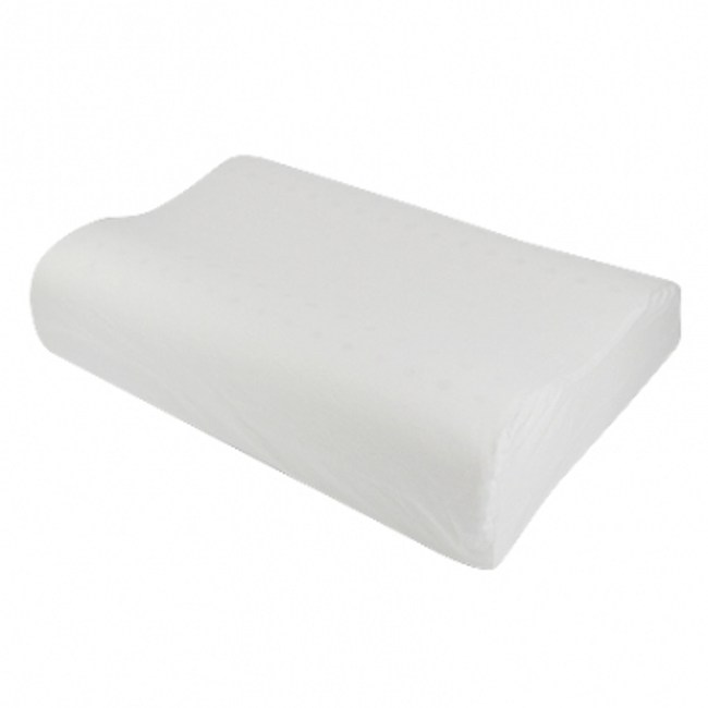 HOLA home 馬來西亞天然乳膠枕曲線型 H14CM