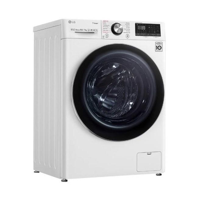 含標準安裝 LG 10.5公斤 WD-S105VDW  WiFi滾筒洗衣機 蒸洗脫烘