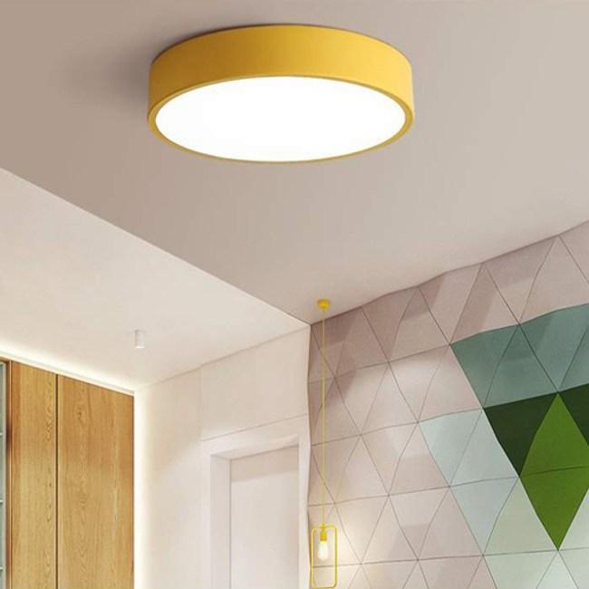 YPHOME 適用1-2坪馬卡龍LED智能遙控吸頂燈 PN0262433-4