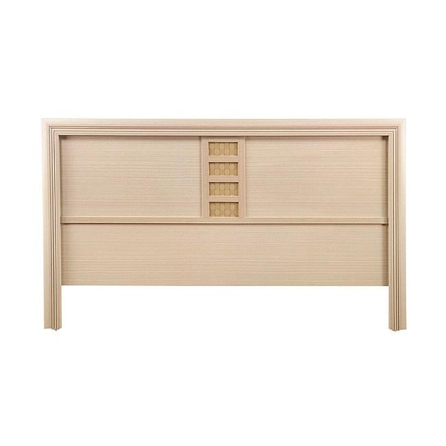 【YFS】雷吉諾德6尺階梯型床頭片-184x3x92cm