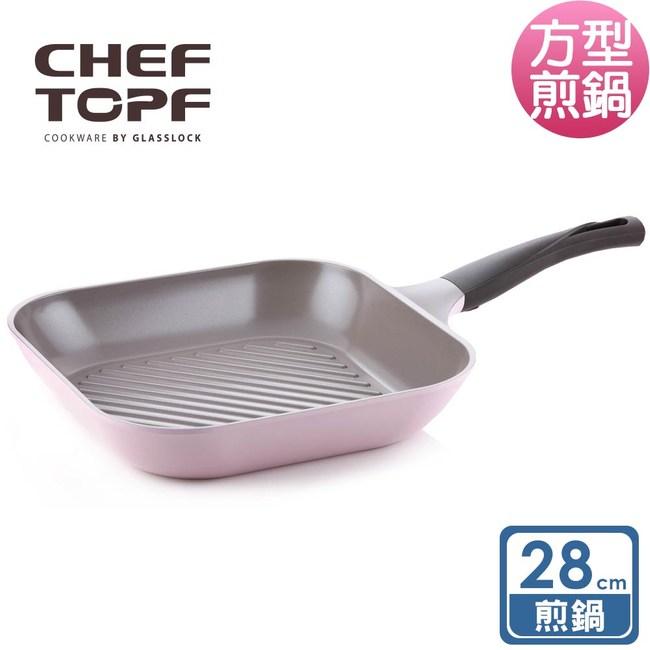【韓國Chef Topf】La Rose玫瑰薔薇系列28公分不沾煎鍋