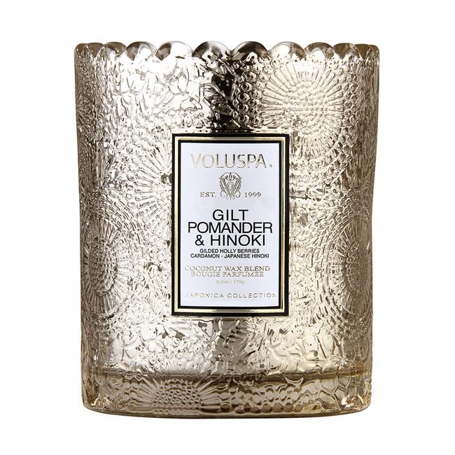 VOLUSPA 天然蠟燭 黃金香囊&檜木 限定款6.2oz