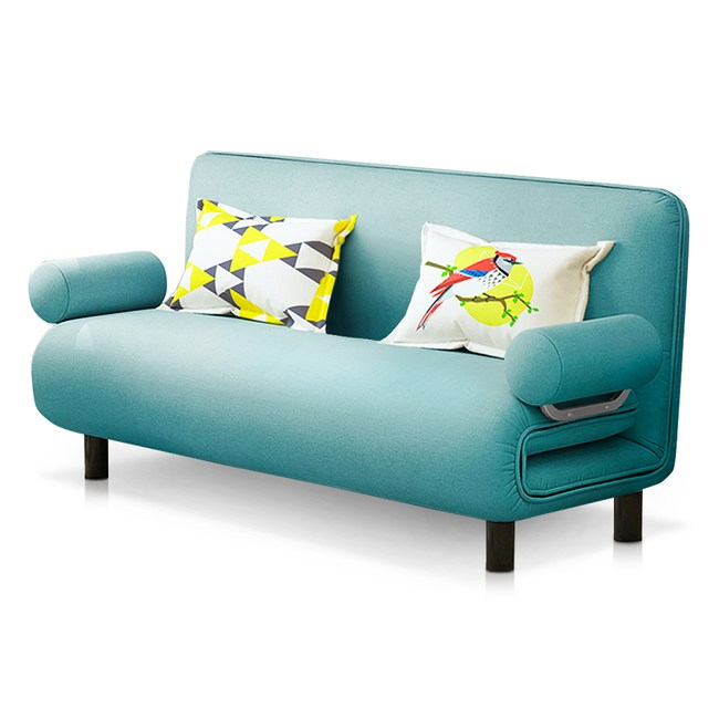 Times小時代-5段調節扶手沙發床(幅150)月光藍