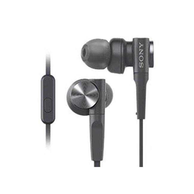 【送收納盒】SONY MDR-XB55AP 黑 重低音入耳式 支援智慧型手機