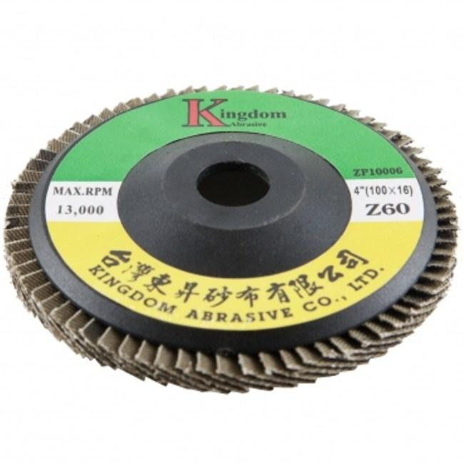 碳化鋯平面砂布輪100x16#60