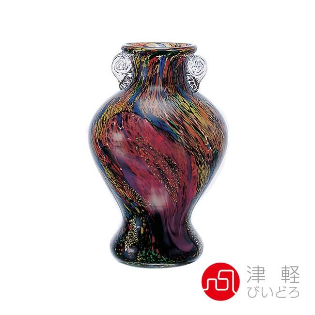 日本津輕 手作十和田花瓶-共2款十和田紅