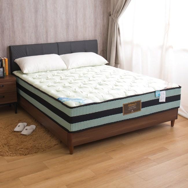 【YFS】佈雷爾-水冷膠涼感二線全封雙人5尺高筒獨立筒床墊