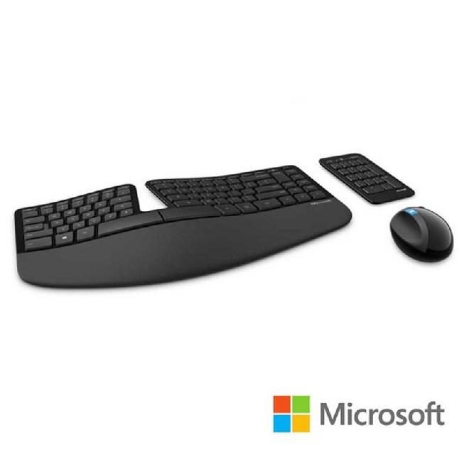 微軟 Microsoft Sculpt 人體工學鍵鼠組 L5V-00025