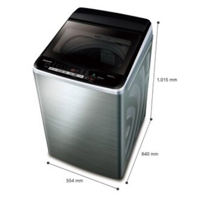 Panasonic 國際牌 NA-V130EBS-S 直立式變頻洗衣機