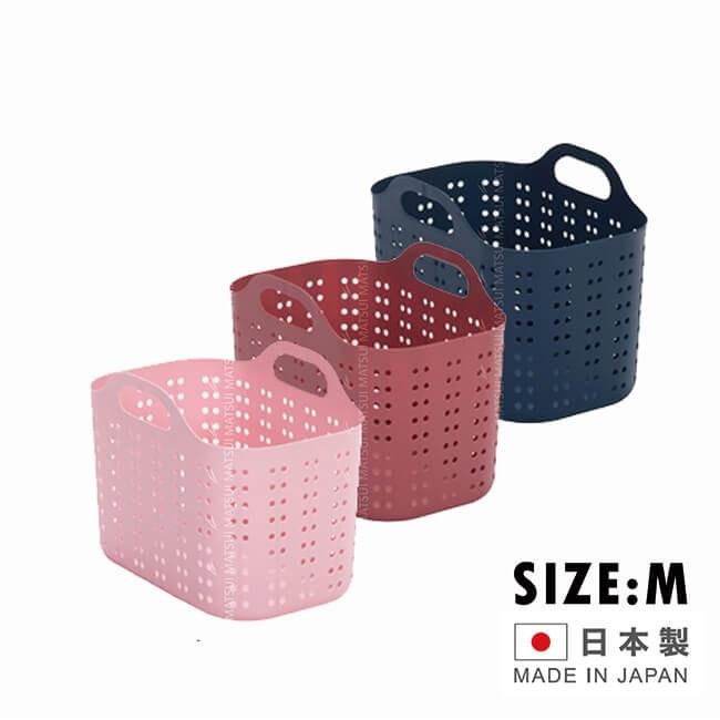 voLca 日本製 小置物籃系列 SAN-VOB-MDBL粉