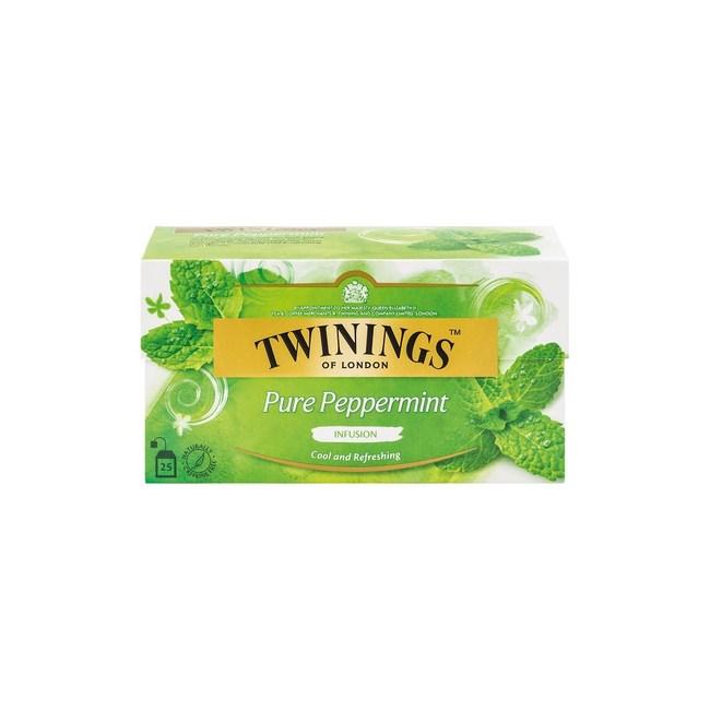 Twinings沁心薄荷茶2g 25入