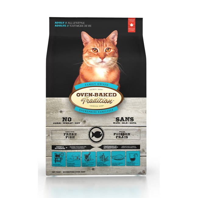 【Oven-Baked】烘焙客 成貓深海魚口味 10磅 X 1包