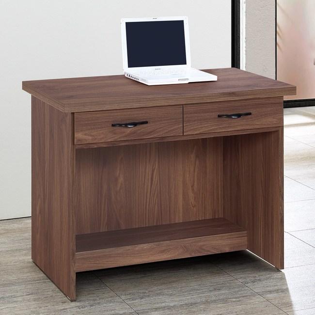 Homelike 愛爾3尺二抽書桌-免組裝
