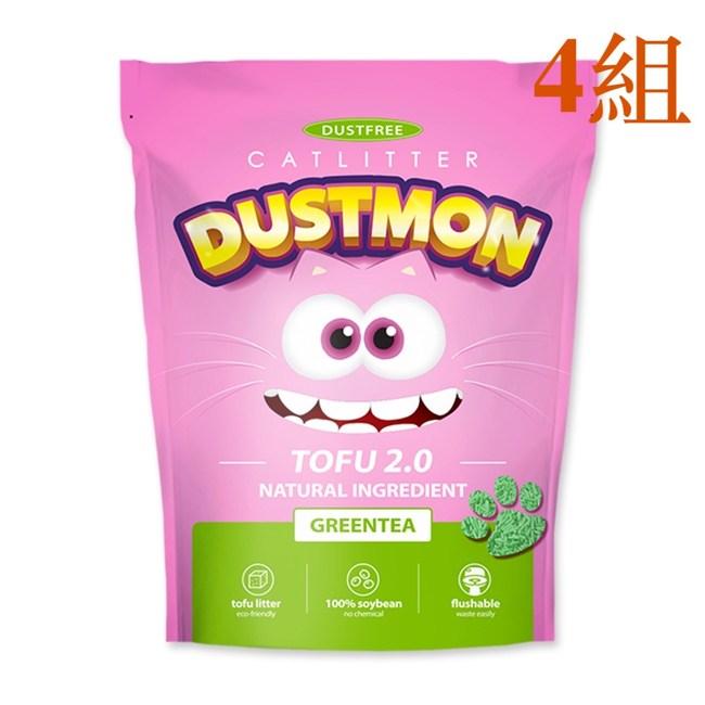 小怪獸系列 - 豆腐砂 綠茶 7L 4組豆腐砂 綠茶 7L 4組